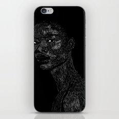 Black Girl #2 iPhone & iPod Skin