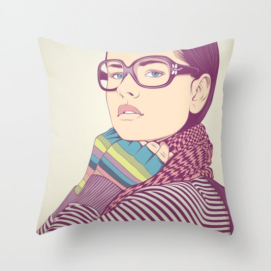 Just know who I am.... Throw Pillow