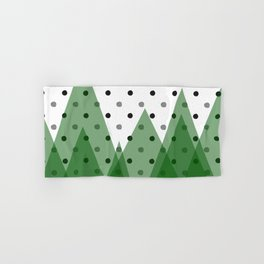 Christmas mountains Hand & Bath Towel