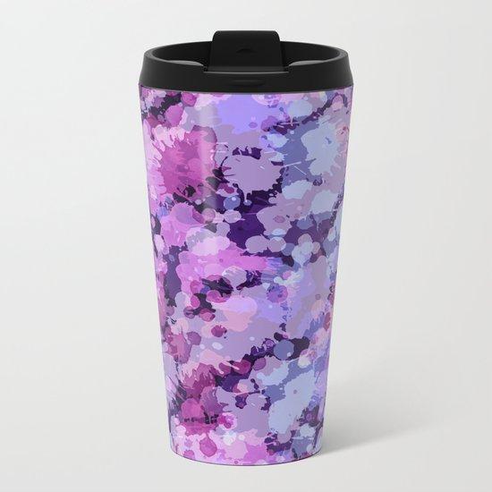 Abstract XXV Metal Travel Mug