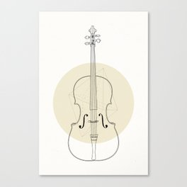 Cello II Canvas Print