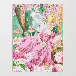 Marie Antoinette Garden Party Poster