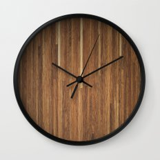 Wood #2 Wall Clock