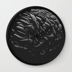 Black Brain Wall Clock