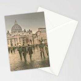 Conciliazione Street, Rome, Italy Stationery Cards