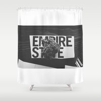 medical Shower Curtains featuring empire medical by fat dominic