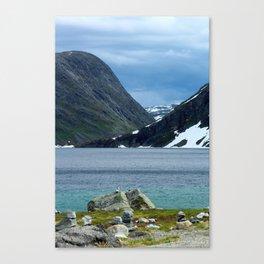 On the Trollstigen Road Canvas Print