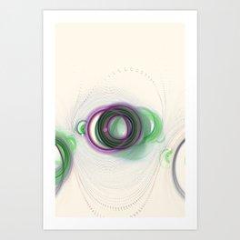 Stem of the Pipe Nebula Art Print
