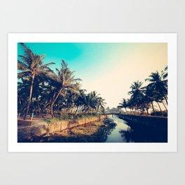 Varca, Goa Art Print