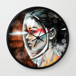 Nova Spike II Wall Clock