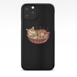 Neko Ramen v2 iPhone Case