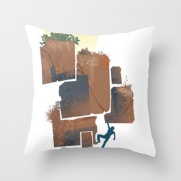 dirt Throw Pillow