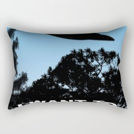 I Want to Believe poster Rectangular Pillow