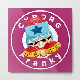 One Piece - Franky Cyborg  (My Style) Metal Print