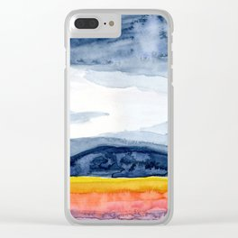 Windmills and Daydreams Clear iPhone Case