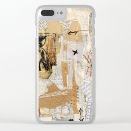 up and down Clear iPhone Case