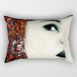 respiro_rosso Rectangular Pillow