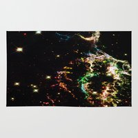 cosmic Area & Throw Rugs featuring Cosmic by 2sweet4words Designs