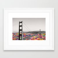 la Framed Art Prints featuring It's in the Water by Bianca Green