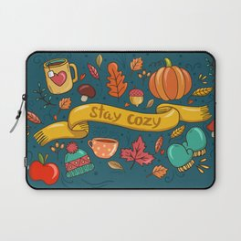 Autumn Is The Time To Stay Cozy Laptop Sleeve