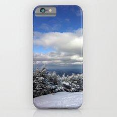 Skiing in Vermont iPhone 6 Slim Case