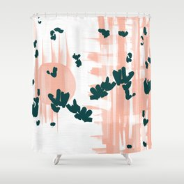 Morning Blooms Shower Curtain