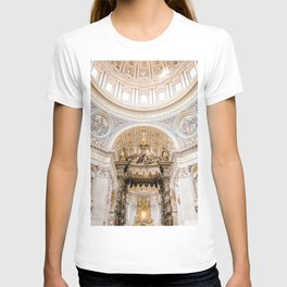 Saint Peters Cathedral, San Pietro, Vatican City, Rome, Italy T-shirt