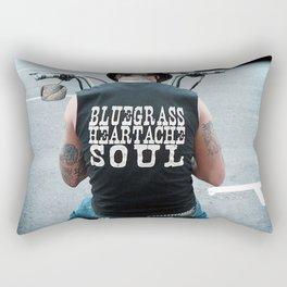 Bluegrass Heartache Soul Rectangular Pillow