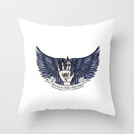 The Raven Cycle Quote Throw Pillow
