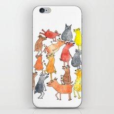 Dog Pyramid iPhone & iPod Skin