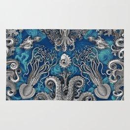 The Kraken (Blue) Rug