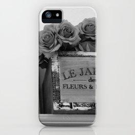 Le Jardin 2 iPhone Case