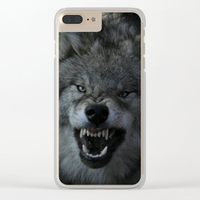Malicious Intent Clear iPhone Case