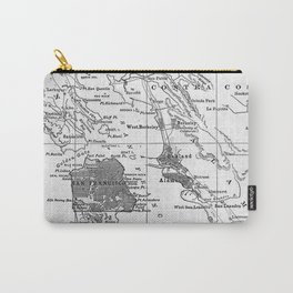 Vintage Map of San Francisco California (1905) Carry-All Pouch