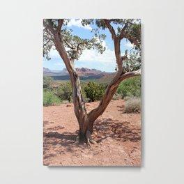 Arizona Horizon - Sedona Red Rocks Metal Print