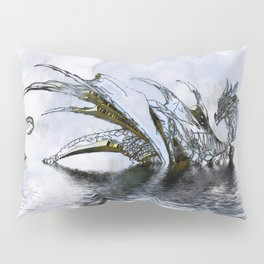 Blue Dragon Pillow Sham