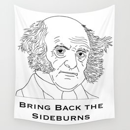 Bring Back the Sideburns! Wall Tapestry