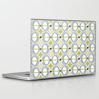 airplane Laptop & iPad Skins featuring airplane by ottomanbrim