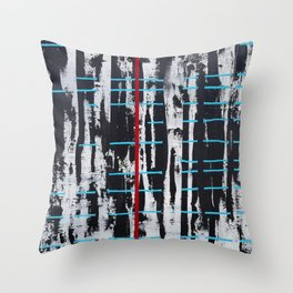 """""""Controlled Chaos"""" Throw Pillow"""