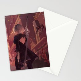 NieR: Automata - Welcome to the Amusement Park Stationery Cards