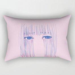Sad Again Rectangular Pillow