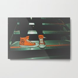 can i kick it?...yes you can.  Metal Print