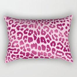Leopard (Pink) Rectangular Pillow