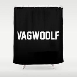 VagWoolf2 Shower Curtain