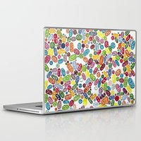 pills Laptop & iPad Skins featuring Pills by Eleacuareling