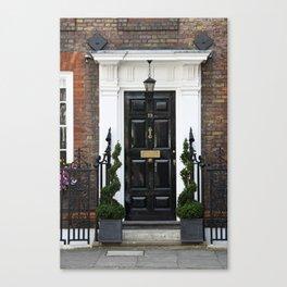 Westminster door 2 Canvas Print