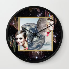 Double Realities  Wall Clock
