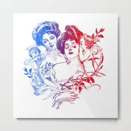 Little Whispers Metal Print