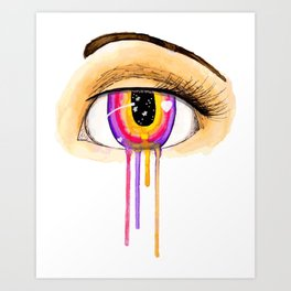 Crying for You Art Print