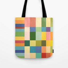 Soft Color Gradient Tote Bag